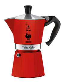 Cafetière italienne Moka Express Bialetti Rouge - 6 tasses
