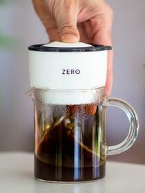 Trinity Zero Mini Coffee Press - White