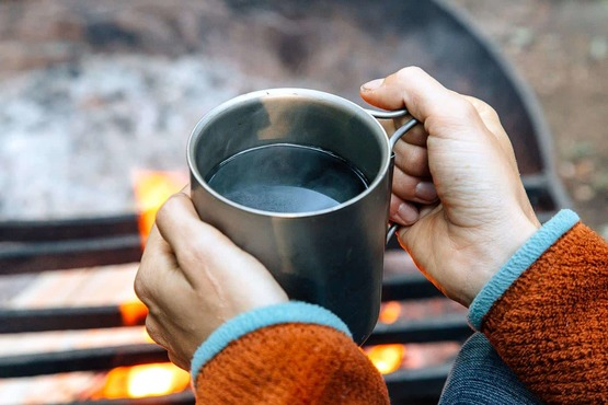 Koffiezetapparaten voor op reis