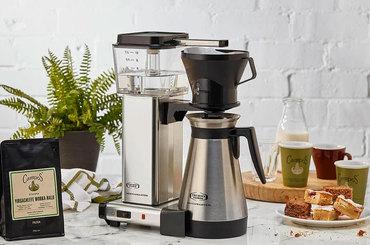 Cafetières automatiques à filtres et percolateurs