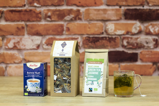 Teas and herbal teas for professionals
