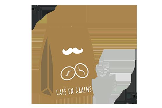 Pack café (grains)